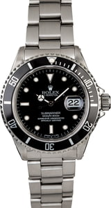 Men's Rolex Submariner 16610 Steel Bracelet