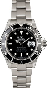 Men's Rolex Submariner 16610 Diving Watch