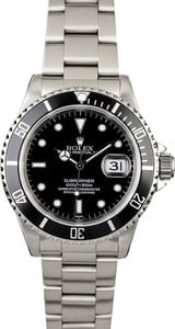 PreOwned Rolex Submariner 16610
