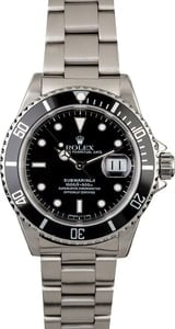 Rolex Submariner 16610 Steel Case