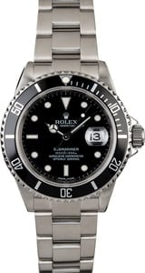 Rolex Submariner 16610 Steel 40MM