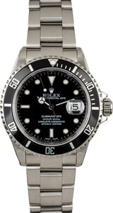 Certified Rolex Submariner