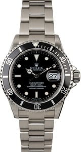 Certified Rolex Submariner Ref 16610