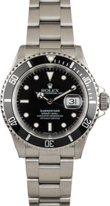 PreOwned Submariner Rolex 16610