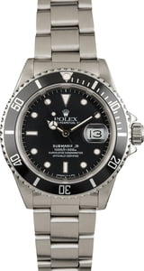 Used Rolex Submariner 16610 Stainless Steel Oyster Band