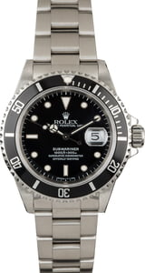 Used Rolex Submariner 16610 Dive Watch