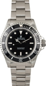 Pre-Owned Rolex Submariner 14060 Dive Watch