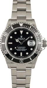 Pre-Owned Rolex Submariner 16610 Steel Oyster Bracelet