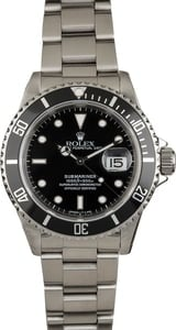 Rolex Submariner 16610 Black Tritium Dial
