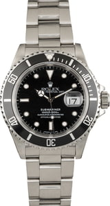 Rolex Submariner 16610 Black Bezel Insert