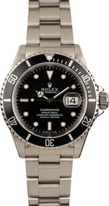 Pre-Owned 40MM Rolex 16610 Submariner