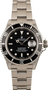Submariner Rolex Stainless 16610