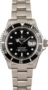 Rolex Submariner Watch 16610 Bob's Watches