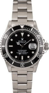 Pre Owned 16610 Rolex Submariner