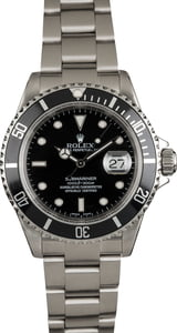 Pre Owned Rolex 16610 Submariner