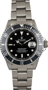 Pre Owned Rolex Submariner 16610 Steel