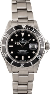 Pre Owned Rolex Stainless Steel Submariner 16610