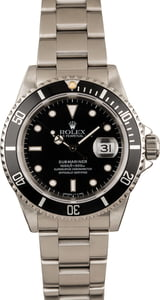 Used Rolex Submariner 16610 Oyster Watch