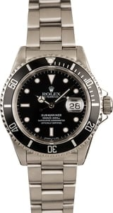 Pre-Owned Rolex 16610 Submariner 40MM Watch