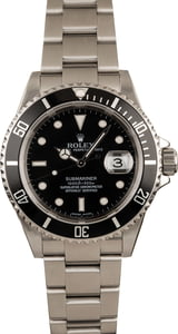 Pre-Owned Rolex 40mm Submariner 16610