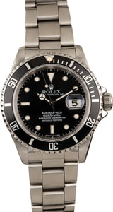 Pre-Owned 40MM Rolex Submariner 16610 Timing Bezel