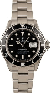 Pre-Owned Rolex 16610 Submariner Oyster Bracelet