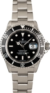 Used Rolex 16610 Submariner