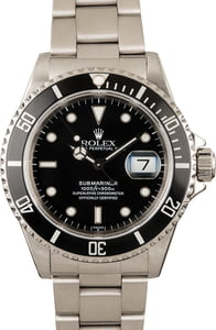 Rolex Men's Pre-owned Submariner 16610
