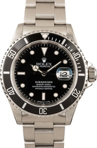 Submariner Rolex 16610 PreOwned