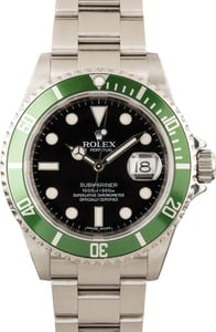 Rolex Submariner 'Kermit' 16610V