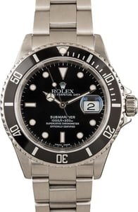 Used Rolex Submariner 16610 Diving Watch
