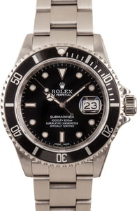 Rolex Submariner 16610 Stainless Steel
