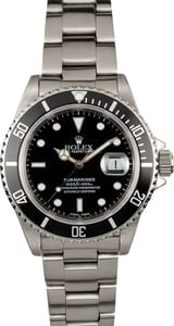 Rolex Submariner 16610 Black Dial Watch