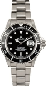 Rolex Submariner 16610 Oyster 100% Authentic