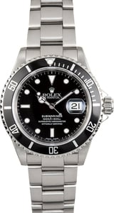 Rolex Submariner 16610 Oyster Perpetual