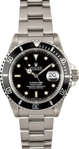 Rolex Submariner 16610 Stainless 100% Authentic