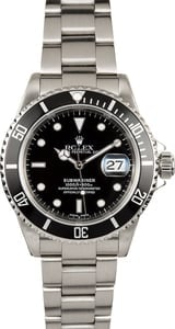 Rolex Submariner 16610 Stainless Steel 100% Authentic