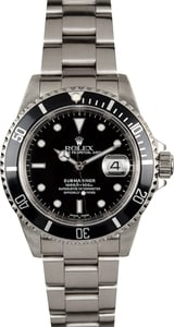 Rolex Submariner 16610 Stainless Steel Oyster