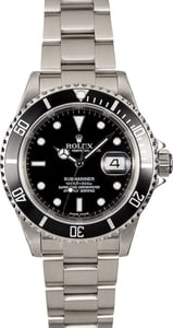 Used Rolex Submariner 16610T