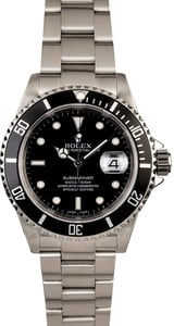 Rolex Submariner 16610T Steel Oyster
