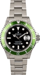 Rolex 50th Anniversary Submariner 16610V Kermit