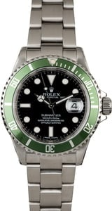 Rolex Submariner 16610V Green 'Kermit' Bezel