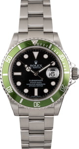 PreOwned Rolex Submariner 16610V 'Kermit'