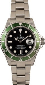 Used Rolex Anniversary Submariner 16610V