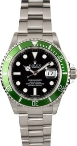 Rolex Submariner 16610V Anniversary Green