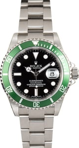 Rolex Submariner 16610V Green Bezel