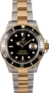 Rolex Submariner 16613 Two-Tone Oyster