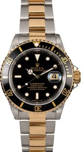 Rolex Submariner 16613 Two-Tone Men's Watch