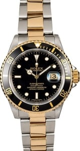 Rolex Submariner 16613 Black Dial