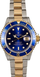 Rolex Submariner 16613 Blue Two-Tone Oyster